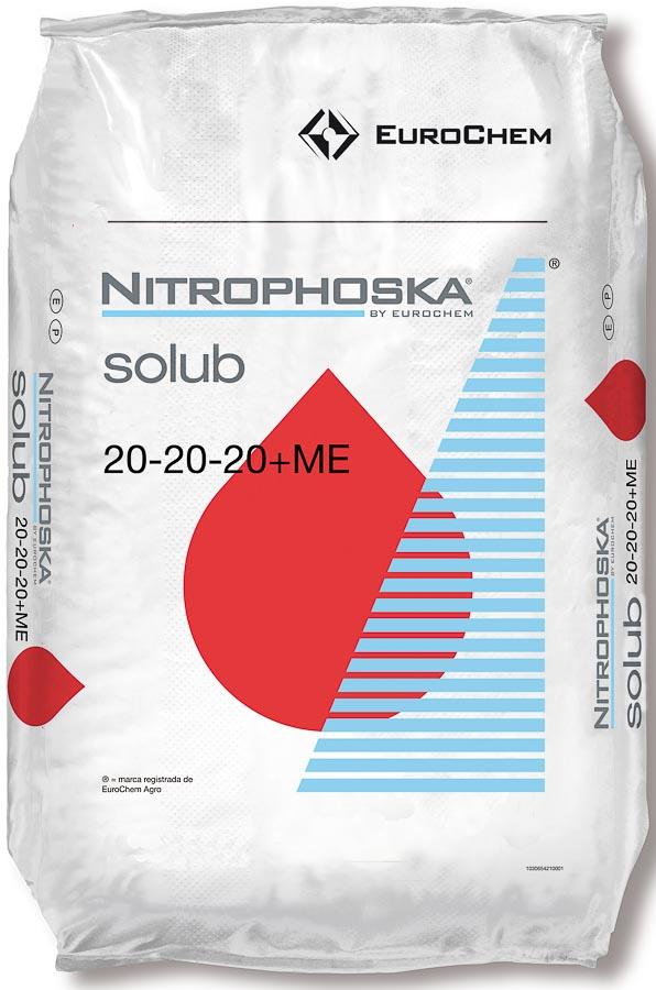 Nitrophoska® solub 20-20-20 + mikro